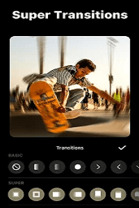 Video Transition Effects inShot